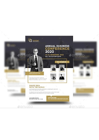 Sample Event Conference Flyer