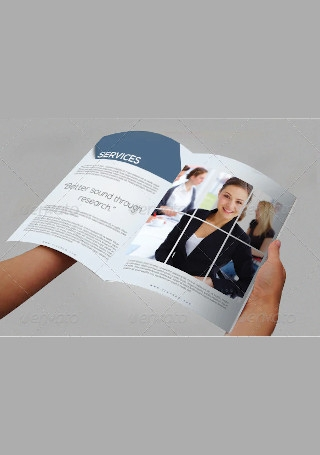 Sample Marketing Brochure InDesign