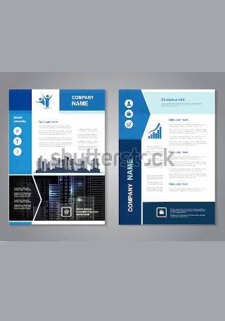 Sample Modern Flyer InDesign1