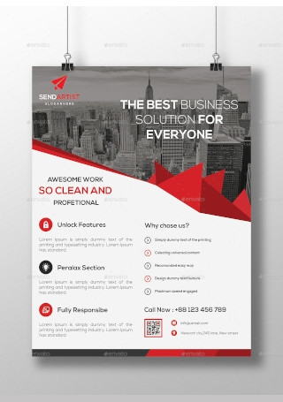 Sample Multipurpose Flyer InDesign