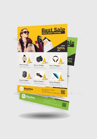 Sample Product Sale Flyer InDesign