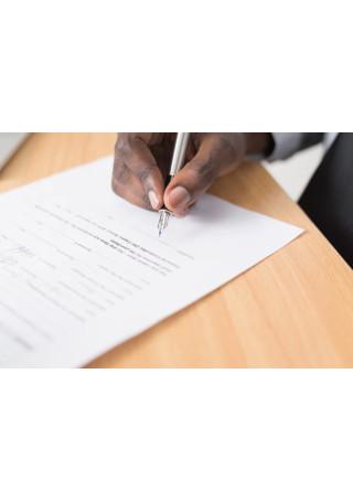 sample professional job resignation letter