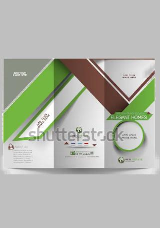 Sample Real Estate Brochure InDesign