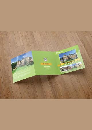 Sample Real Estate Company Brochure