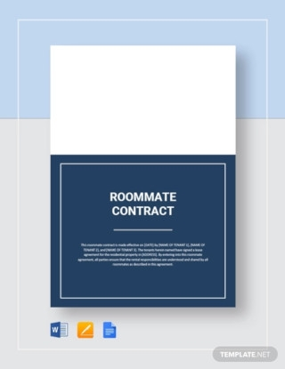 Sample Roommate Contract