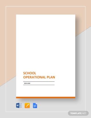 School Operational Plan
