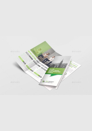 Social Media Marketing Trifold