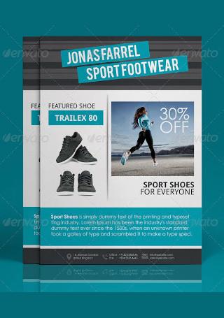 Sport Product Sale Flyer