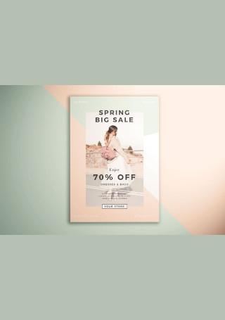 Spring Fashion Sale Flyer