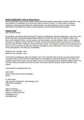 Standard Nurse Recommendation Letter