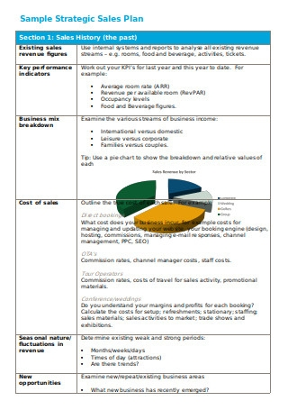 Strategic Sales Plan Sample