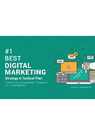 Top Digital Marketing PowerPoint