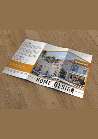 Trifold Brochure Real Estate Company