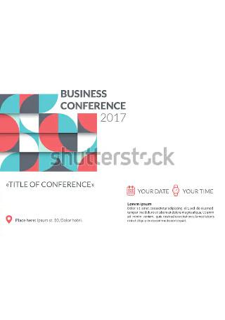 Vintage Business Conference Invitation
