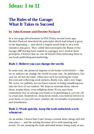 192 Book Marketing Ideas