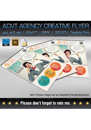 Advertising Agency Creative Flyer