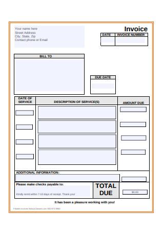 Basic Invoice