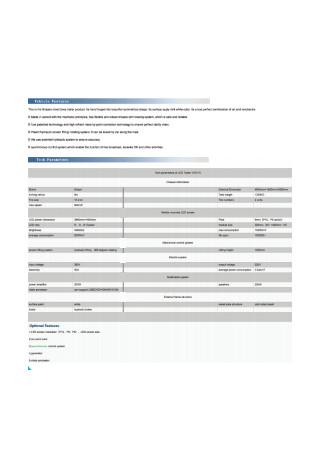 Basic Sales Proposal