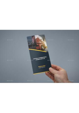 Brochure – Logistic Tri Fold