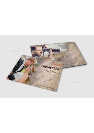 Business Card Postcard Sample