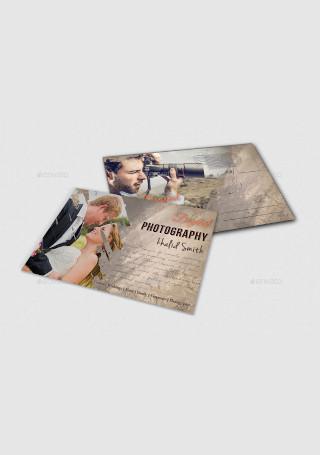 Business Card Postcard Template