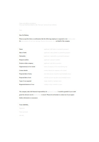 Business Introduction Letter for Employees