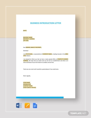 Business Introduction Letter1