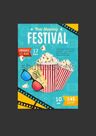 Cinema Movie Festival Ticket