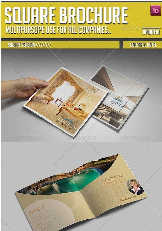 Colorful Hotel Brochure