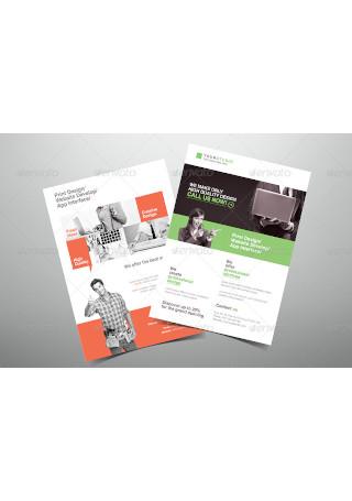 Creative Design Company Flyer