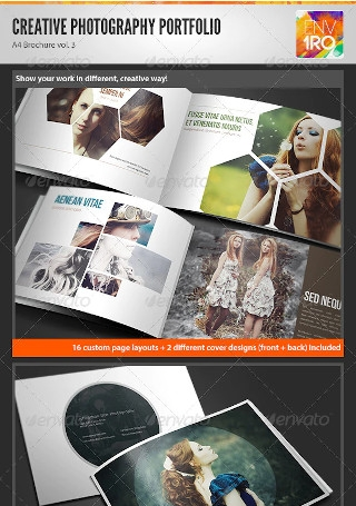 Creative Photography Portfolio Brochure