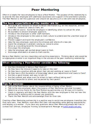 Department Orientation Checklist
