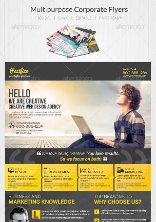 Design Agency Flyers