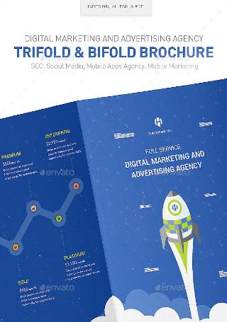 Digital Marketing Advertising Agency Brochure