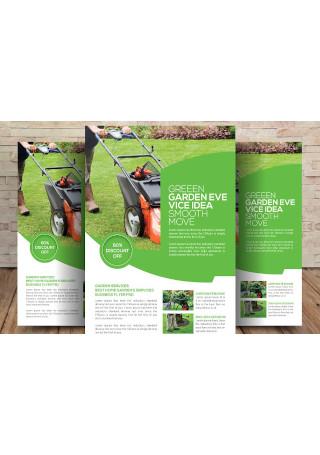 Editable Garden Services Flyer Template