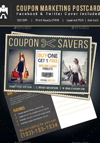 Facebook Twitter Coupon