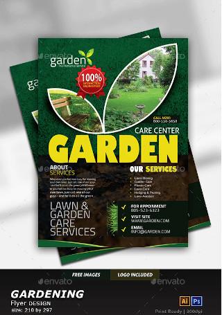 Garden Landscape Flyer