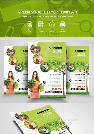 Garden Plantation Services Flyer