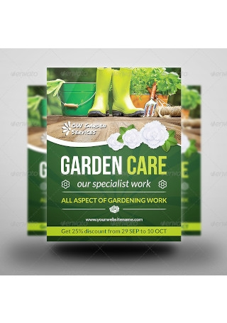 Garden Services Flyer