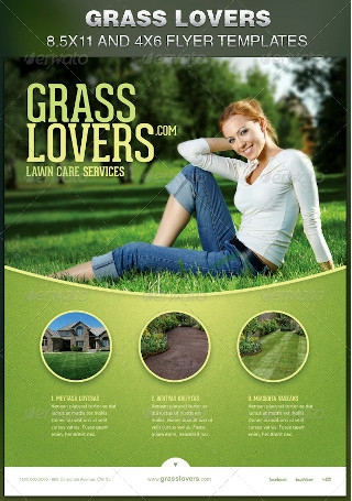 Grass Lovers Corporate Flyer