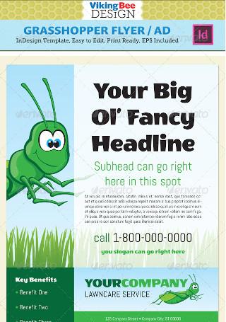 Grasshopper Flyer Template