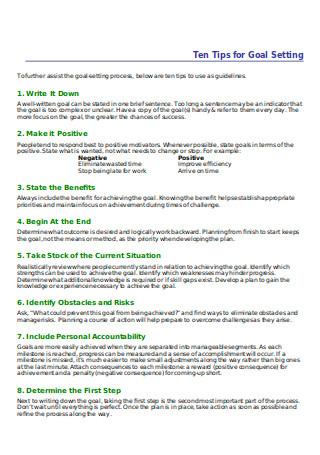 HR Smart Goals
