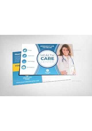 Health Medical Center Postcard Template