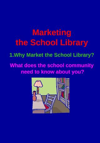 Ideas of Marketing School Library