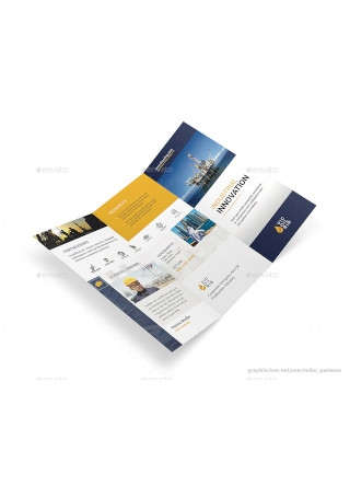 Industry Trifold Brochure