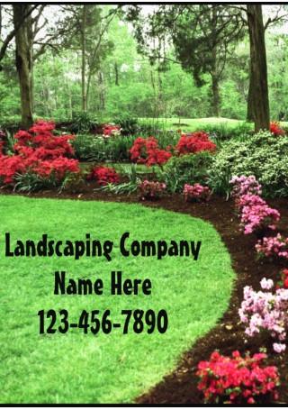 Landscape Lawn Care Business Flyer