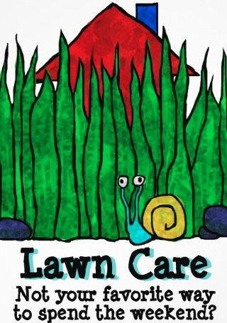 Lawn Care Promotional Flyer