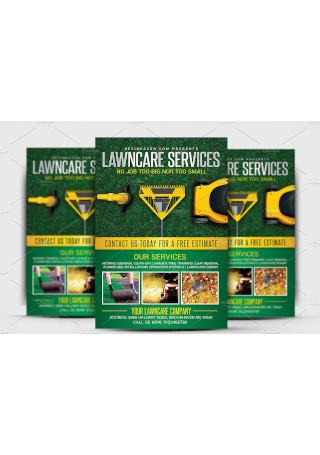 Lawn Garden Care Flyer Template
