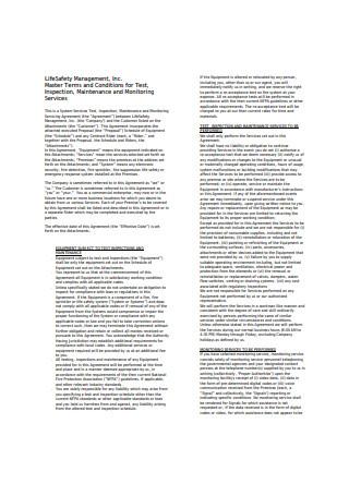 Life Safety Management Sales Proposal