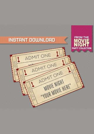 Movie Night Admission Ticket